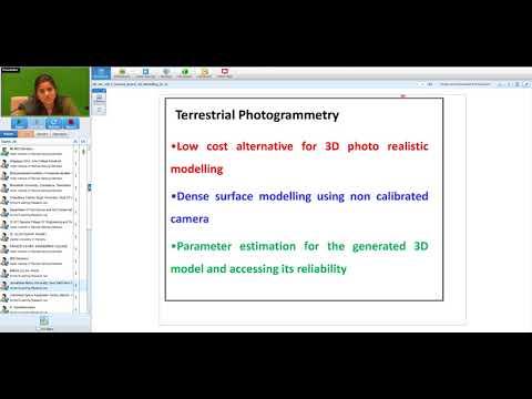 08/01/2018 : Introduction to 3D modelling_Dr Poonam S Tiwari