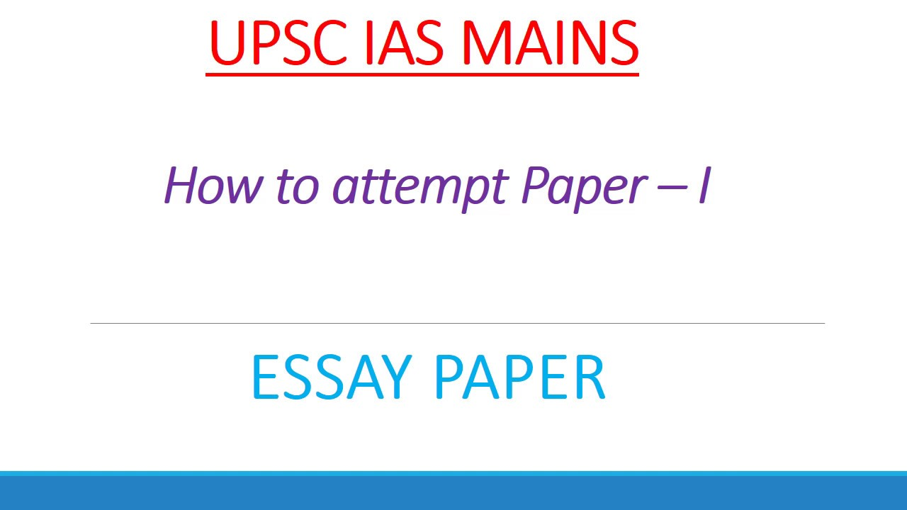 Essays About High School How To Write Essay Paper Upsc Ias Mains Exam    Narrative Essay Example High School also Essays On Science Fiction How To Write Essay Paper Upsc Ias Mains Exam   What Is The Thesis Statement In The Essay