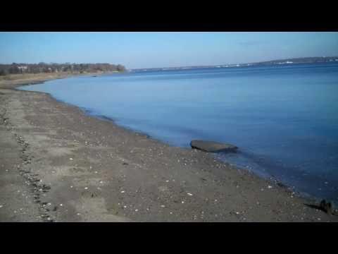 Waterfront Mount View Beach - North Kingstown RI- Narragansett Bay