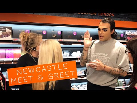 Makeup revolution newcastle meet greet youtube makeup revolution newcastle meet greet m4hsunfo