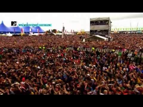 Lily Allen - Not Fair [Live @ Oxegen Festival 2009]