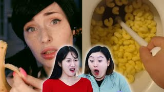 Koreans in their 30s React To Weird ASMR