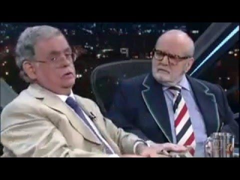 Antonio Claudio Mariz De Oliveira Advogado E Criminalista No Programa Do Jô 18/04/2016