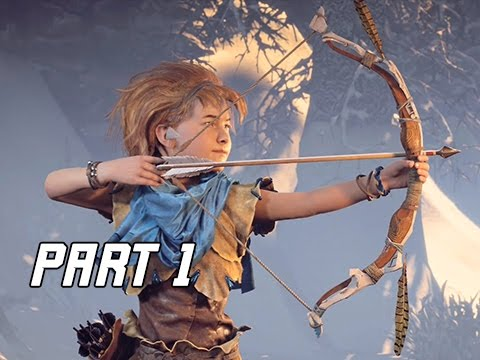 Horizon Zero Dawn Walkthrough Part 1 - FIRST 1.5 HOURS! (PS4 Pro Let's Play Commentary)
