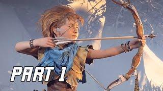 Horizon Zero Dawn Walkthrough Part 1 - FIRST 1.5 HOURS! (PS4 Pro Let