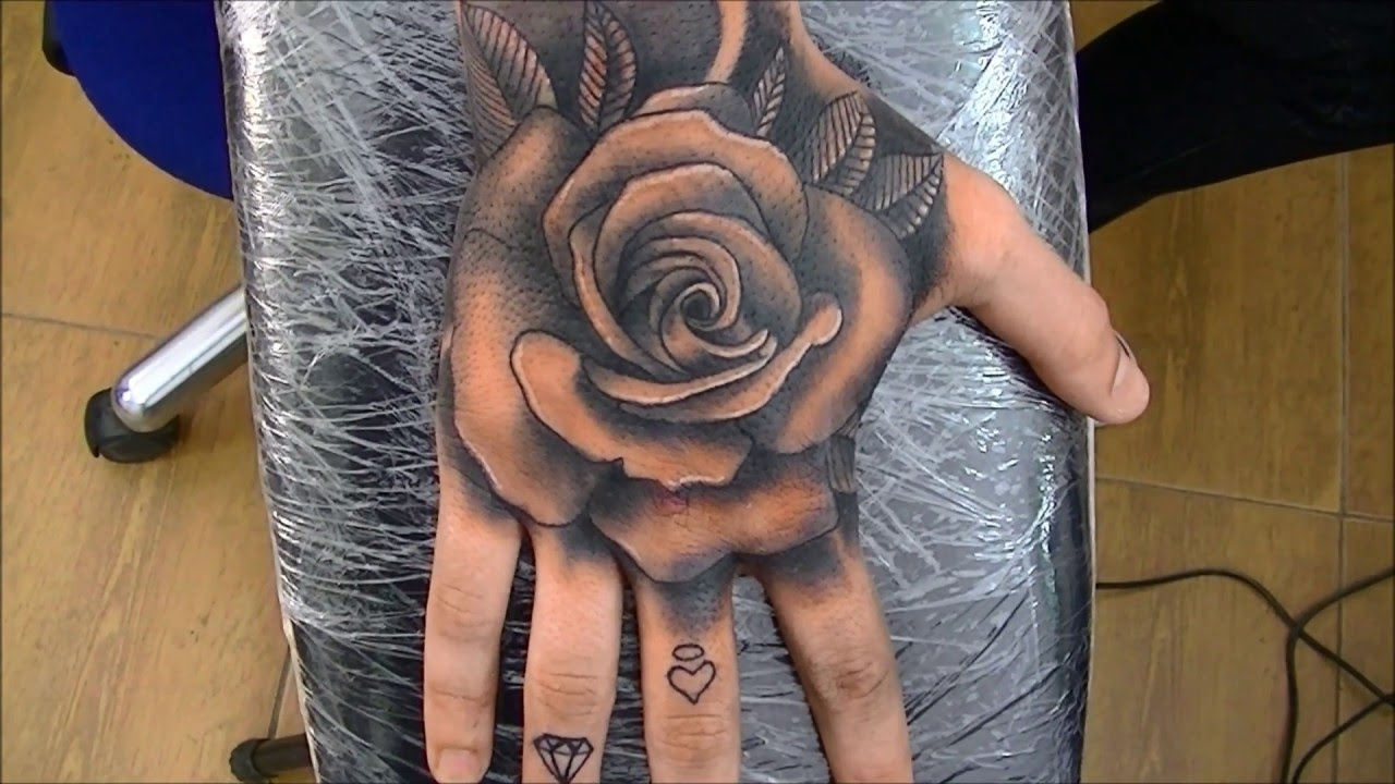 Rose Tattoo  Time Lapse Youtube