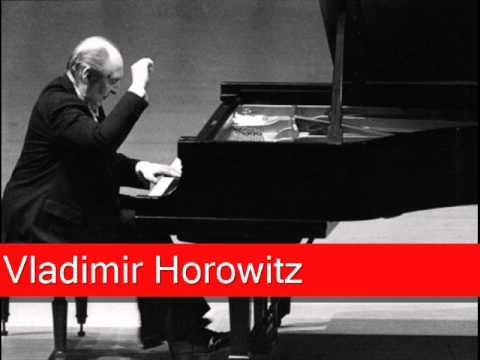 Vladimir Horowitz: Chopin - Étude No. 3 in E major, Op. 10, 'Tristesse'