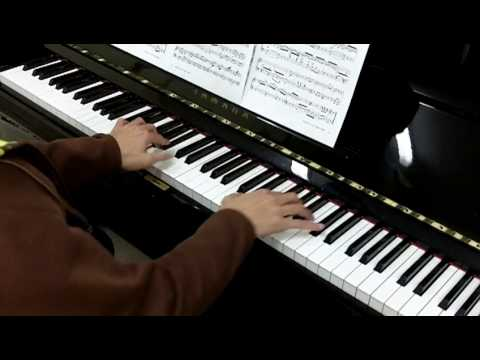 ABRSM Piano 2011-2012 Grade 7 A:3 A3 Mozart K280 Sonata In F Presto