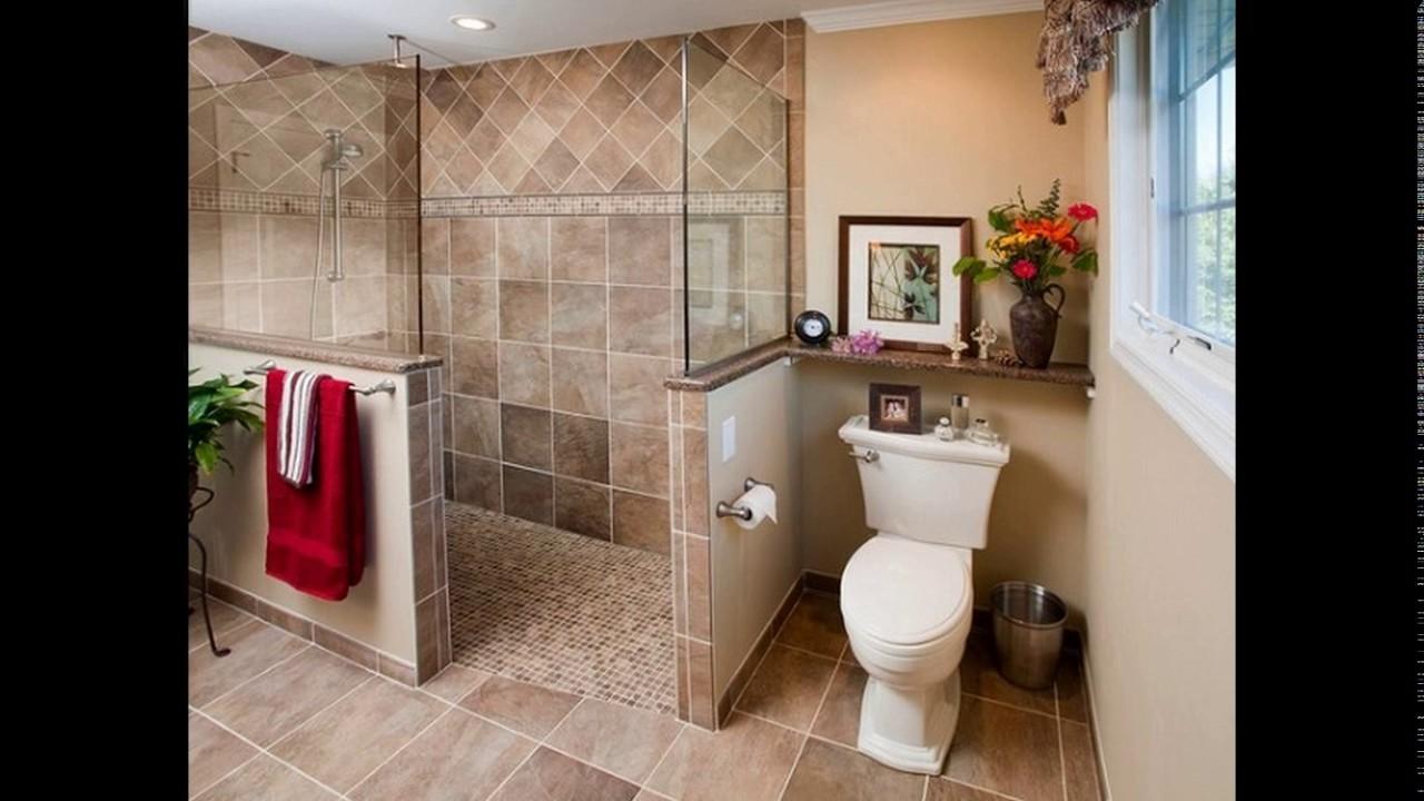 Bathroom Design Doorless Shower