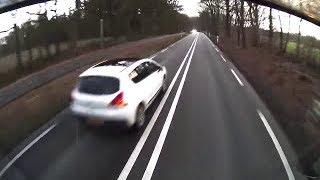 Randdebiel heeft schijt aan zijn leven, andermans leven en de verkeersregels voor NUL sec winst..