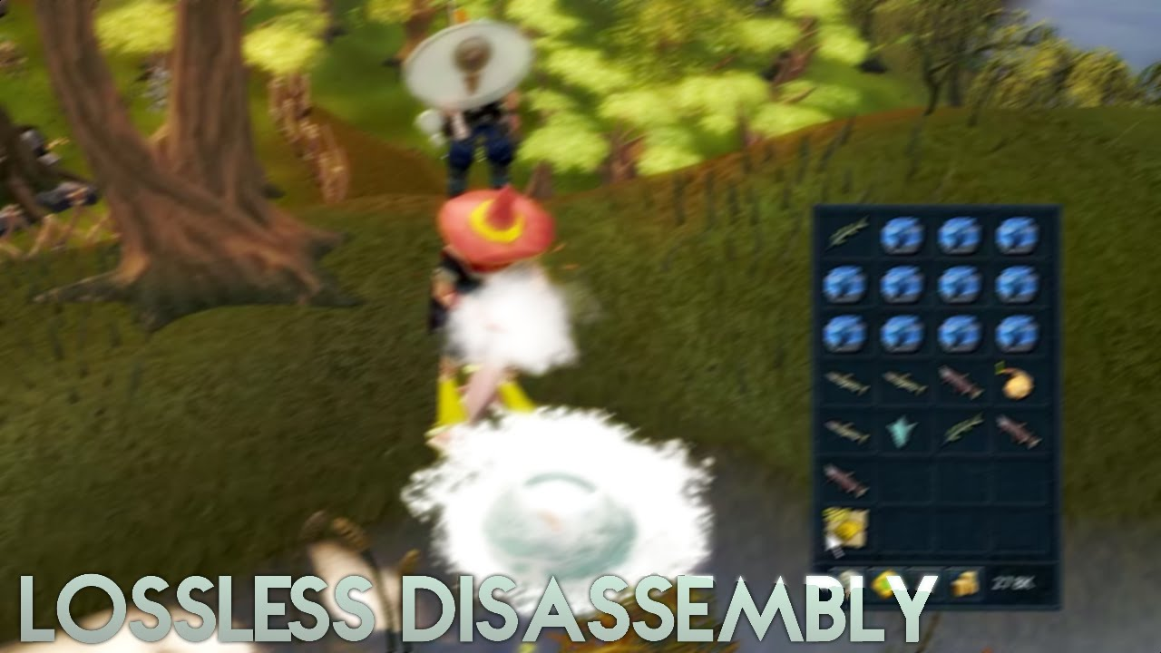 Disassembling Items While Skilling Youtube