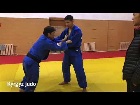 内柴正人 柔道 大内刈 説明付き JUDO Uchishiba Masato Ashiwaza technique Русское объяснение