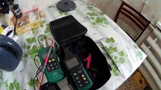Трассоискатель  Mastech 6818.  Поиск кабеля в панельном доме,  Электрик Ярославль,Тутаев,Рыбинск