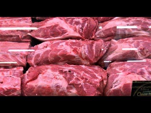 ЦЕНЫ и КАЧЕСТВО мяса и рыбы в Русском магазине в Германии