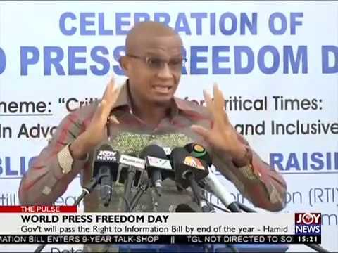 World Press Freedom Day - The Pulse on Joy News (3-5-17)