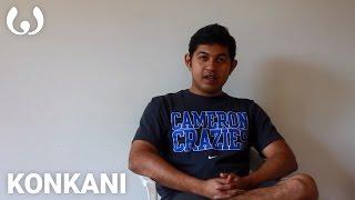 WIKITONGUES: Ashwath speaking Konkani