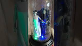 Gemmy Frankenstein and Bride Globe