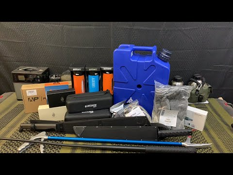 massive-unboxing-camping-back-packing-survival-gear