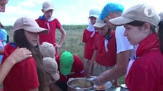 «День тыла» в военно-патриотическом лагере