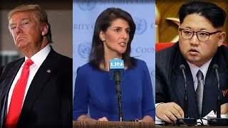 ALERT: TRUMP'S NK RED LINE REVEALED BY UN AMB... KIM IS GOING DOWN thumbnail
