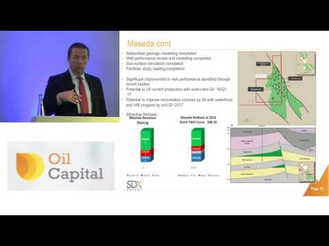 SDX Energy CEO Paul Welch presents at Oil Capital Conference