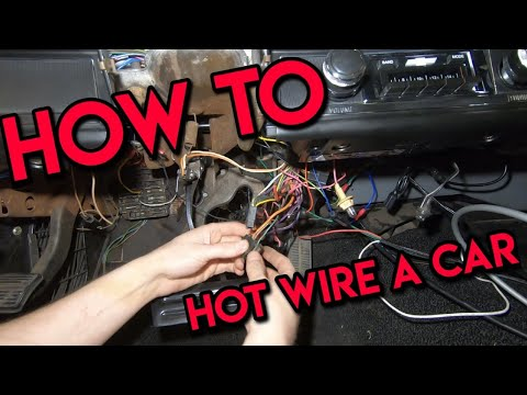 How To Hot Wire A Car!  You Know, For Testing While The Ignition Is Removed...