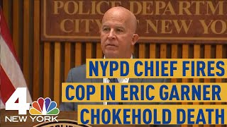 NYPD Chief Fires Cop Who Used Chokehold in Eric Garner Death