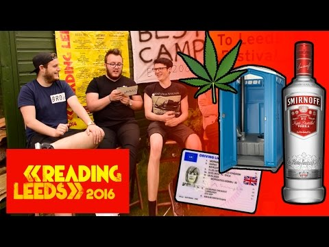 READING AND LEEDS FESTIVAL - Q&A  / FAQ 2016