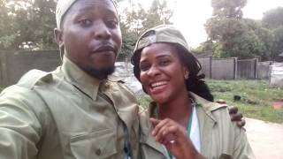 NYSC ORIENTATION PROGRAM..... A day with Man O War #LagosCorper #Mc_Alvanosky