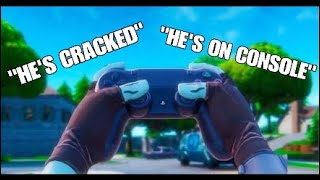 CRACKED Controller Player on CONSOLE (Fortnite Mixtape)