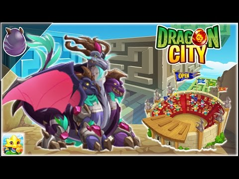 Dragon City - FrozeBeast Dragon + Fighting PVP [Training & Combat | Completed]