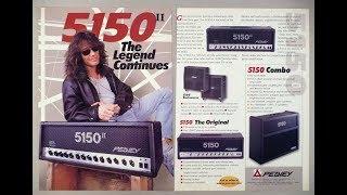 History of the 5150: The History of Eddie Van Halen's Iconic Amp