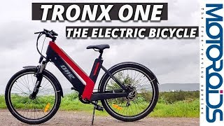 Tron-X One Hybrid Electric Bicycle Review - Excuse Buster for Not Pedalling