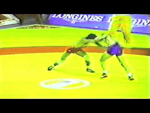 1989 Senior World Championships: 52 kg Metin Topaktas (TUR) vs. Zeke Jones (USA)