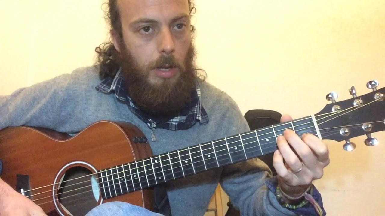 Cosa Mi Manchi A Fare Calcutta Tutorial Chitarra Youtube