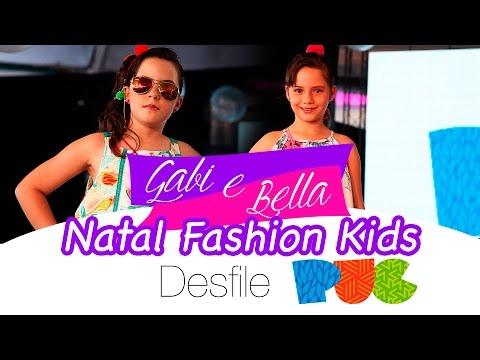 Natal Fashion Kids - Desfile PUC