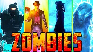 TOP 3 BEST ZOMBIES MAPS!!! // FULL EASTER EGGS! // BLACK OPS 4/3 ZOMBIES