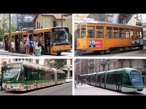 Milan Trams Trolleybuses In 2007