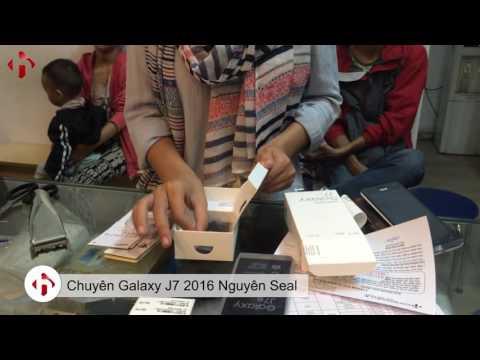 Tự Tay Rạch Seal khi mua Galaxy J7 2016 tại HungMobile. Giá Rẻ - Bảo Hành 12 Tháng