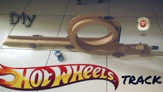 Cara membuat track /  jalur hotwheels dari kardus bekas