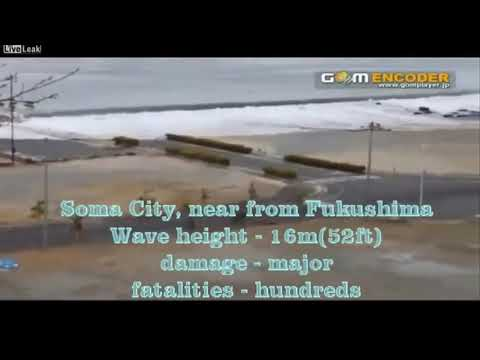 Japan Tsunami 2011 Rare Footage Compilation - with some Unseen Footage