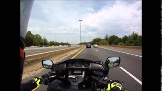 riding the f6b home from honda dealer