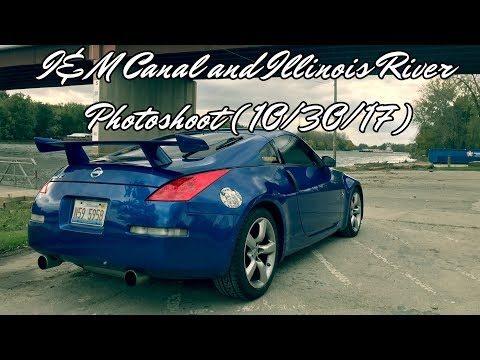I&M Canal and Illinois River 2006 Nissan 350z Photoshoot! (10/30/17)