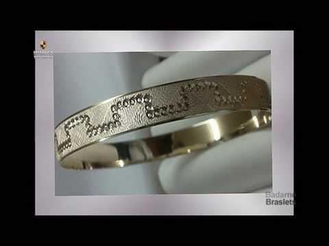 женские браслеты из золота фото, браслеты из белого и красного золота