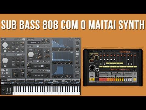 Criando um 808 Sub Bass do Zero com o MaiTai Synth do Studio One