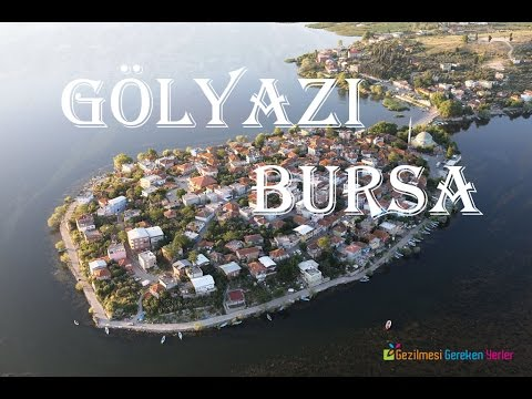 Gölyazı Köyü Bursa 'dan En Güzel Kareler