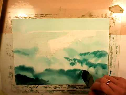 stena line - stena trader 1 speed painting - watercolor