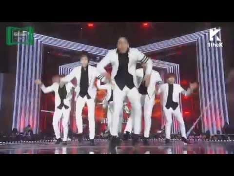 [HD]151107 2015 MelOn MUSIC AWARDS  MonstaX (몬스타엑스) Trespass + HERO  Cut