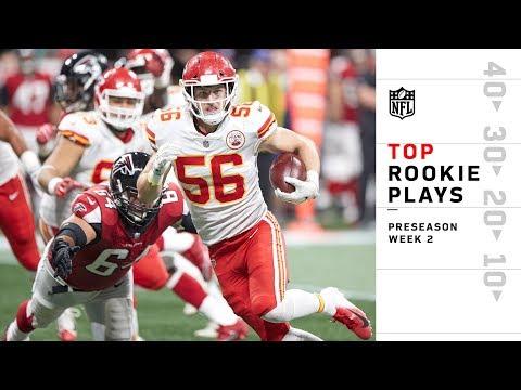 Top Rookie Plays of Preseason Wk 2   NFL 2018 Highlights