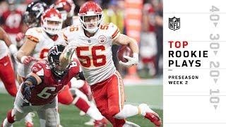 Top Rookie Plays of Preseason Wk 2 | NFL 2018 Highlights